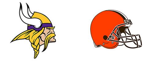 Minnesota Vikings vs Cleveland Browna